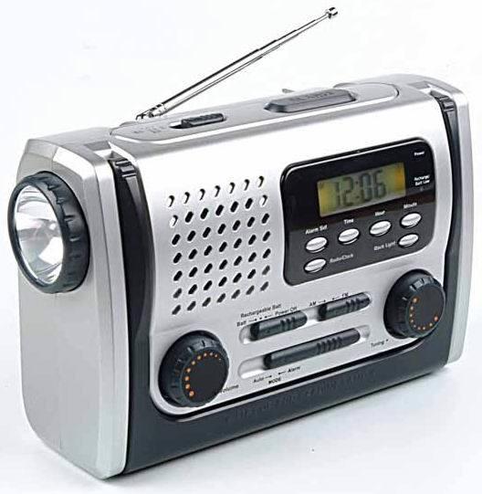 Radio Dynamo rechargeable