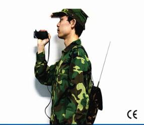 Trasmettitore bidirezionale senza fili militare di deviazione standard audio video Cofdm