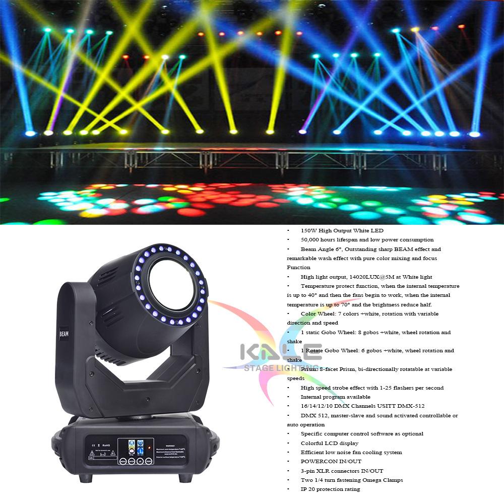 Iluminação de palco LED 200W luz do Cabeçote Móvel