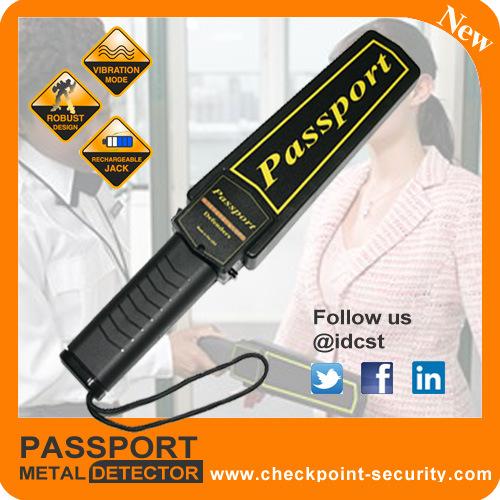Examine WeaponおよびKnifeのためのパスポートDefender Metal Detector