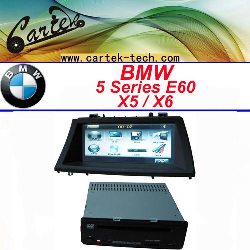 Automobile speciale DVD per E60 5 Series/X5/X6 (2005-2009)