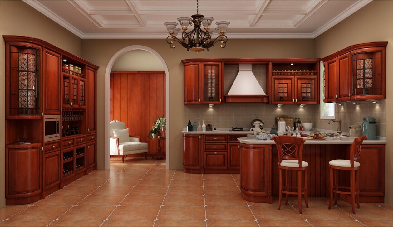 Special hergestellte Verglasung kleine Küche-Schrank-Möbel foto auf ...