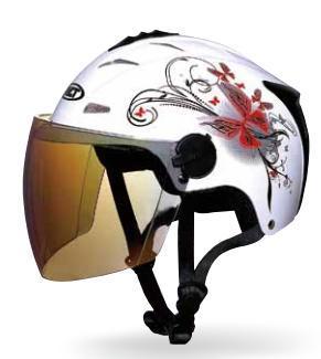Helm van het Gezicht van de Helm van de zomer de Halve voor Motorfiets (wlt-318)