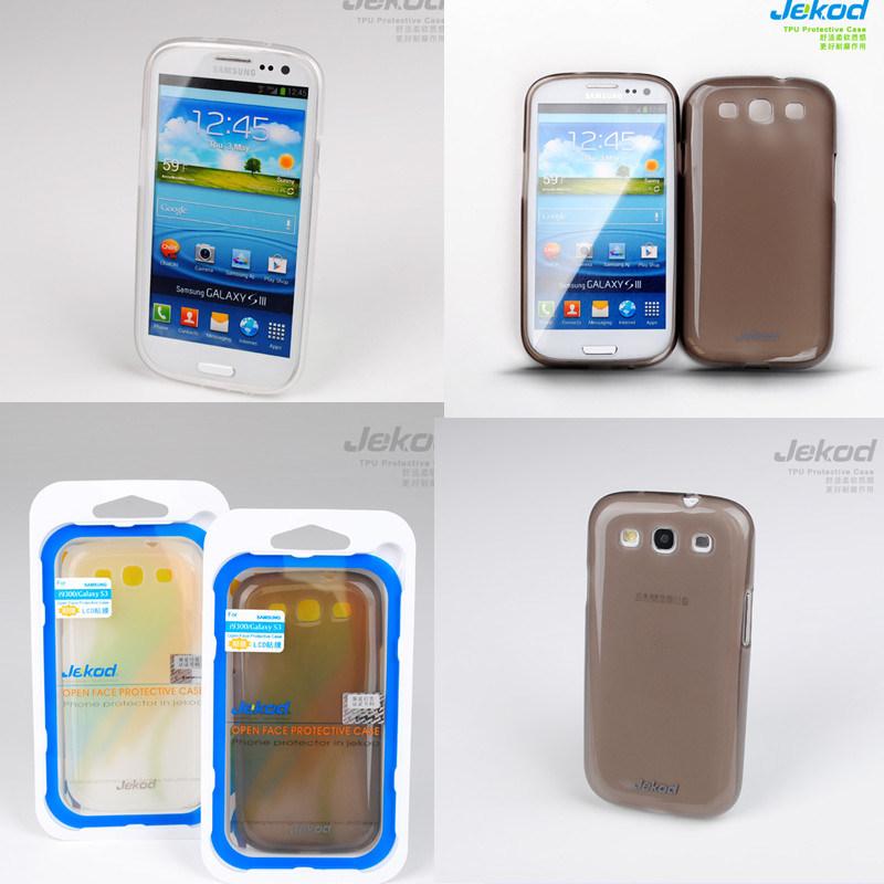 Caso Telefone celular de silicone para Samsung i9300