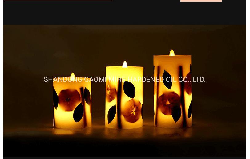 Candela reale di lusso del fiore LED, candela della decorazione LED