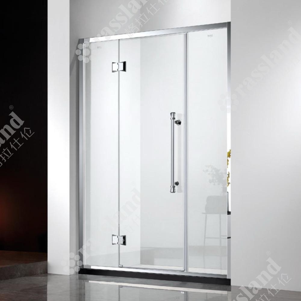 G15p21L comerciano la doccia all'ingrosso personalizzata della stanza da bagno dell'hotel di vetro Tempered di prezzi competitivi