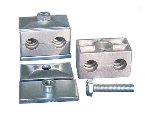 対シリーズアルミニウムパイプ・クランプ(DIN3015部分3)