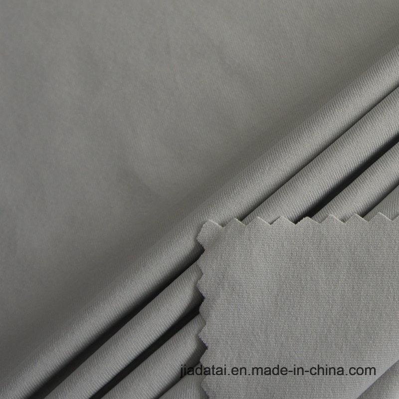 Tessuto di nylon riciclato lavorato a maglia di trama amichevole dello Spandex 8 di Eco 92 per la camicia di sport