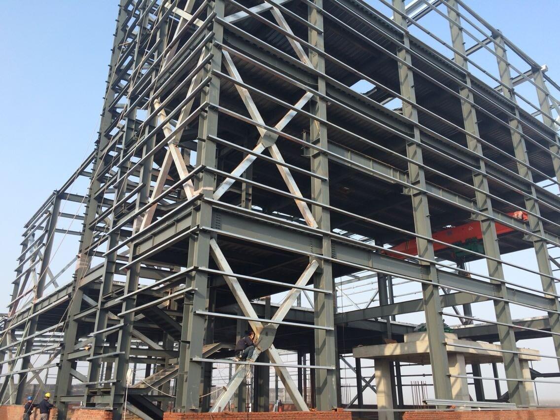 Foto de Estructura de acero Multi-Floors edificio de oficinas (ZY139 ...