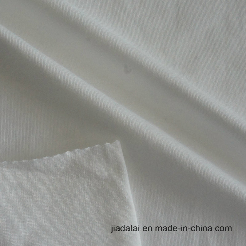 Bci 증명서를 가진 유기 면 Lycra 스판덱스 t-셔츠 직물