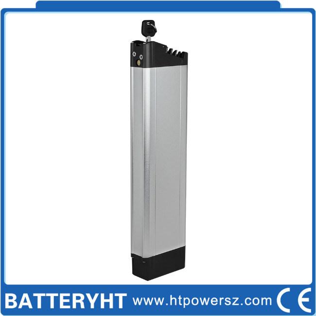 Polímeros de 10ah Bateria eléctrica de aluguer de bicicleta dobrável