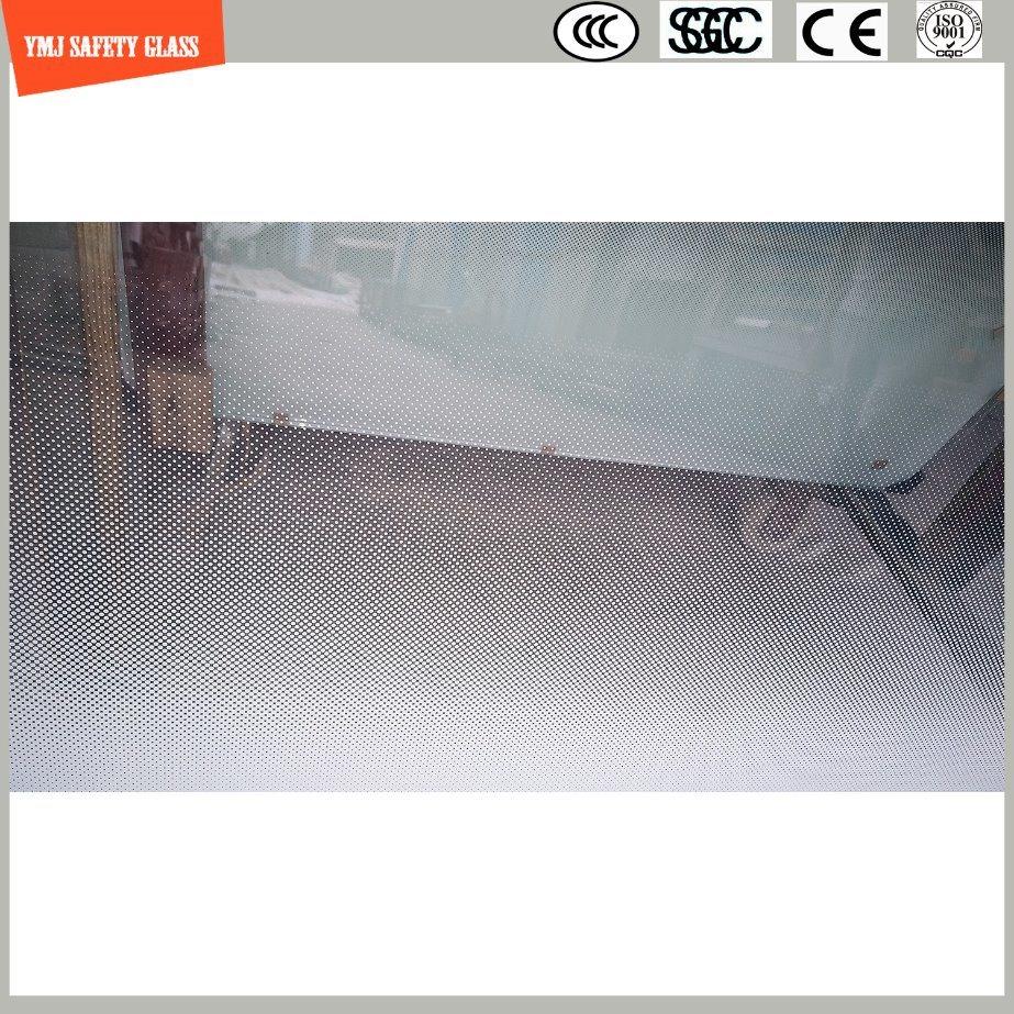 Ausgeglichene lamellierende Steigung verblassen PUNKT Entwurfs-Dusche-Glas mit SGCC