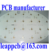 Placa de circuito impreso de aluminio blanco con color de la máscara de soldadura