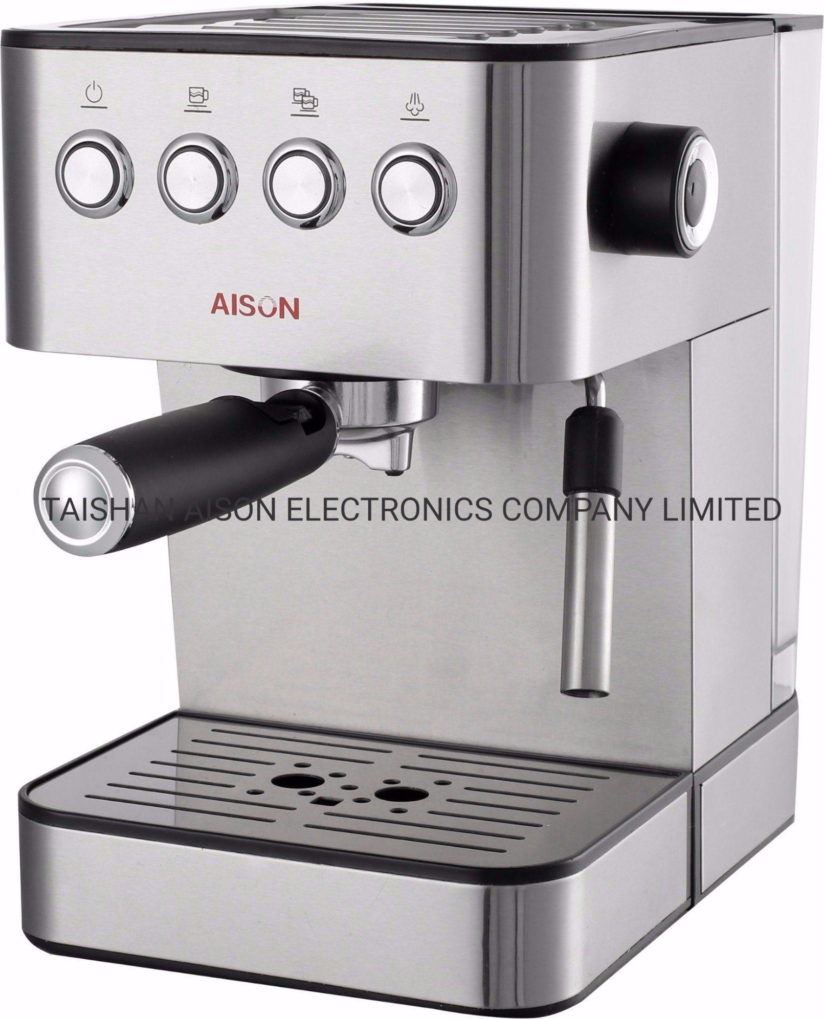 Fabricante Cafetera Espresso con bomba de Italia