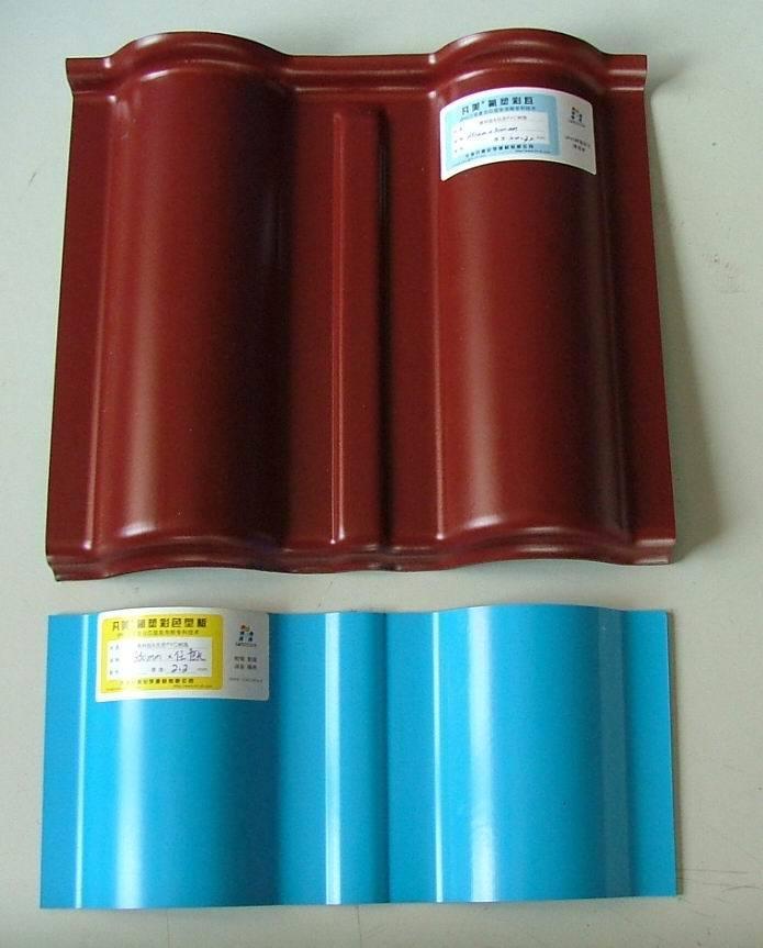 Teja de resina sintética (300)