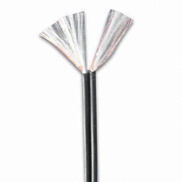 El cable eléctrico con 32 a 16 AWG la gama de tamaños y PVC elevadas (UL2468)