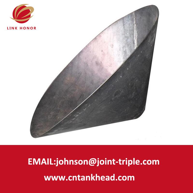 06-01 het hoofd van Conical van het Roestvrij staal van ASME Code Large voor Boiler Parts