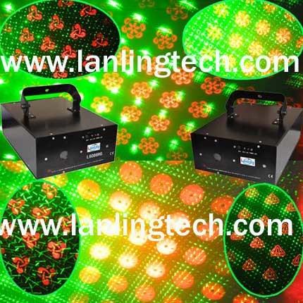 Новый этап Disco лампа Gobo лазерной печати