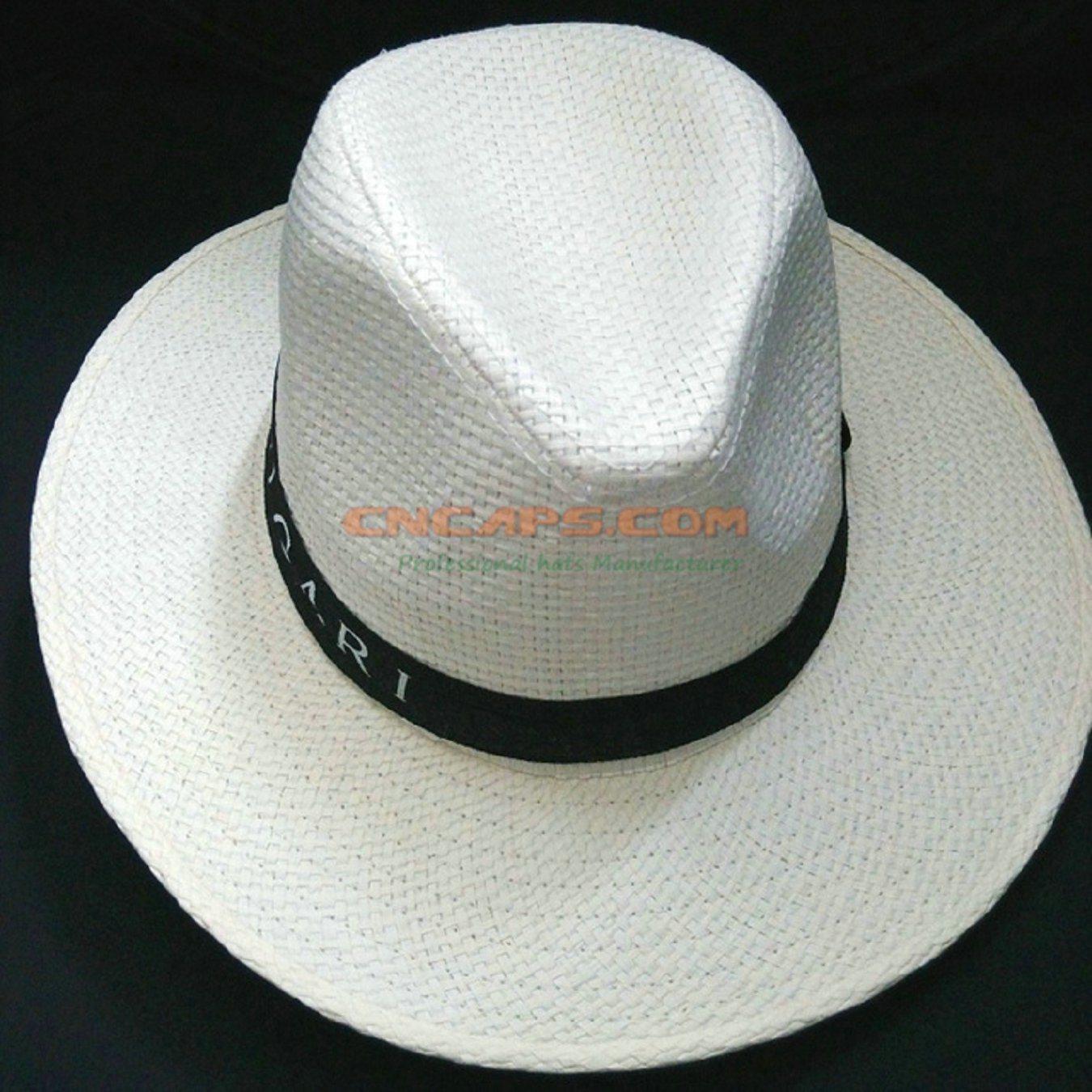 3851516664 Diseño personalizado de sombrero de paja con cinta de impresos para  publicidad – Diseño personalizado de sombrero de paja con cinta de impresos  para ...