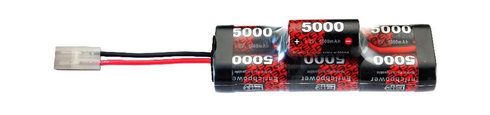 Pilhas recarregáveis de alta potência sc5000mAh NiMH 8.4V Giba Pack para carros com bujão Tamiya RC