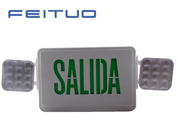Notleuchte, LED kombiniert, LED-Ausgangs-Zeichen, LED-Zeichen, Ausgangs-Licht, kombiniert