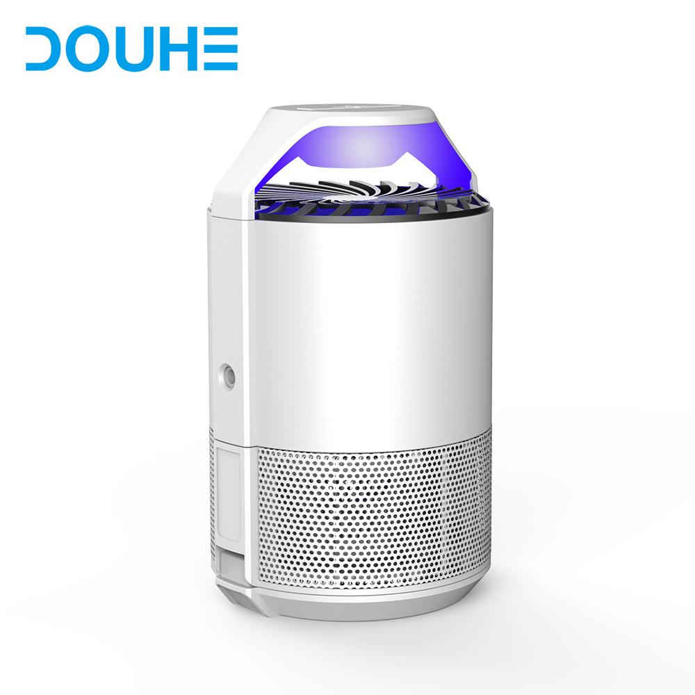Douhe 5V DC Tension de sécurité de l'Énergie de l'enregistrement source de lumière UV Mosquito piège avec modèle double