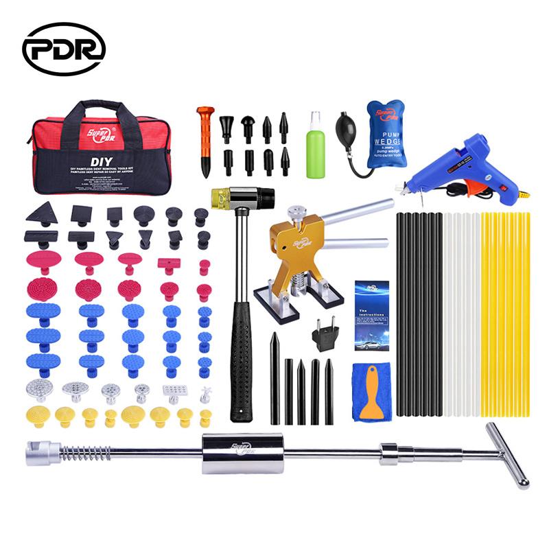 Pdr-Handwerkzeug-Plättchen-Hammer-Abzieher-Installationssatz-Auto-Zahn-Reparatur-Hilfsmittel