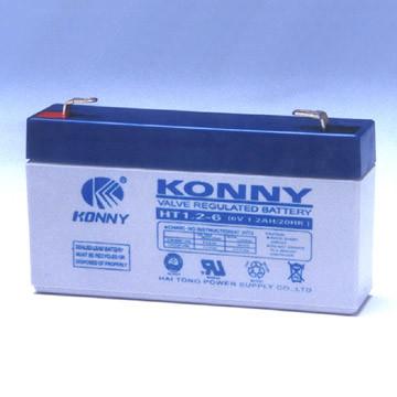 6V/1.2Ah batteria (HT1.2-6)