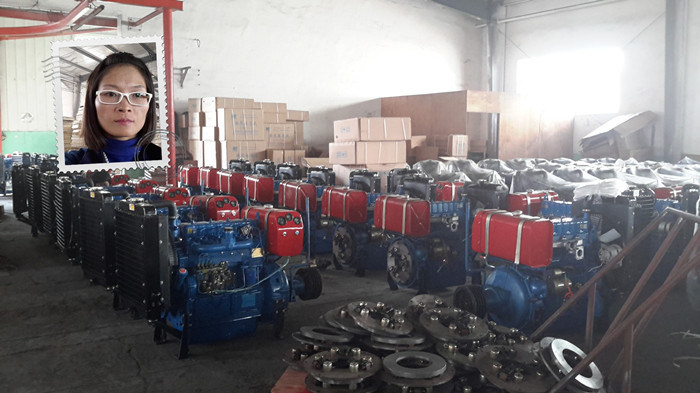 Moteur diesel 4 cylindres Type stationnaire