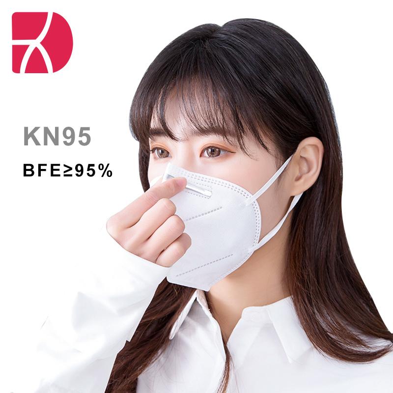 KN95/FFP2 Beschermingsmasker 5 lagen China Officiële Whitelist Enterprise