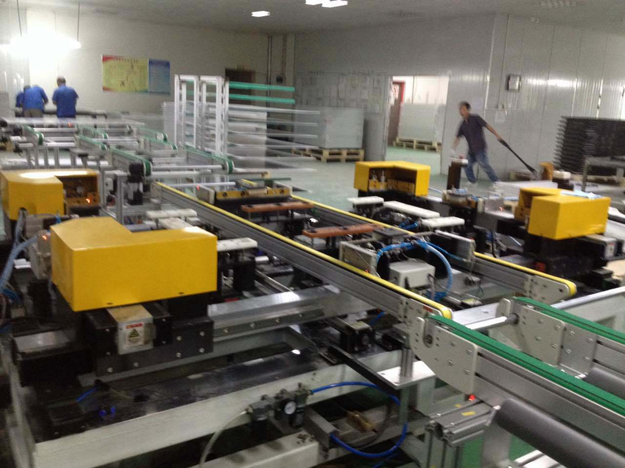 El módulo solar automática Máquina de encuadre – El módulo solar ...