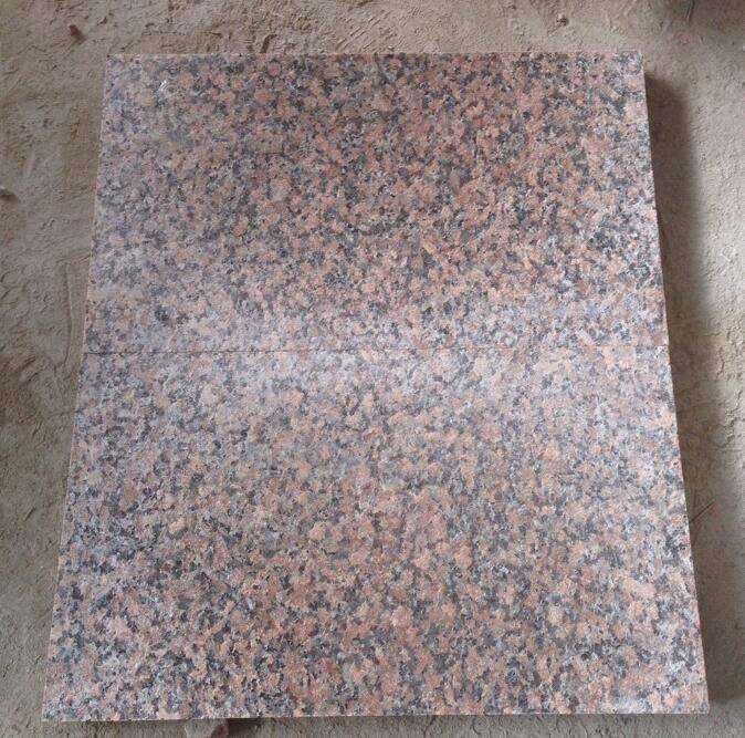 G562 Granit Ahornholz Roter Granit Rote Granit Platte Fliesen Foto