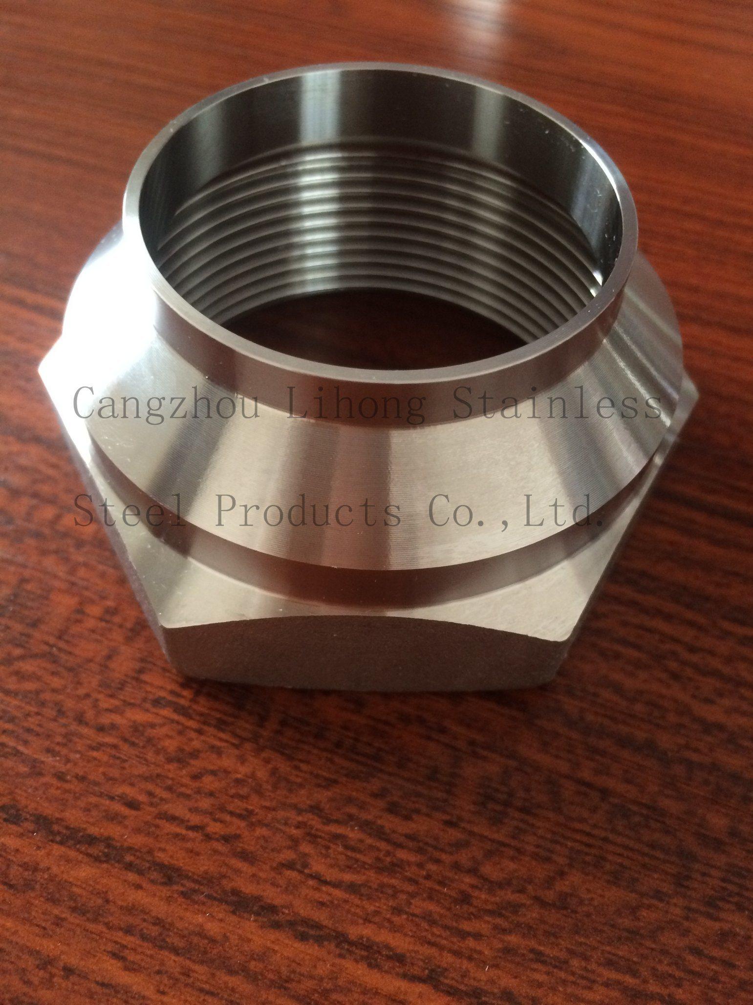 Raccordi per tubi in acciaio inox, nipplo da fusione