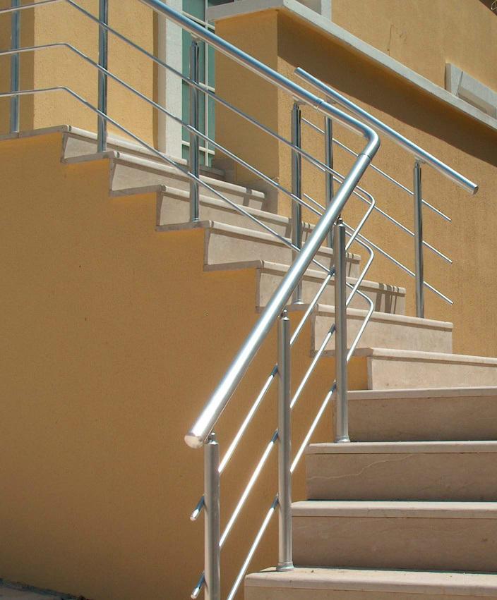 Increíble el pasamanos de aluminio para el edificio de oficinas (AZH ...