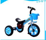Giro della bici del triciclo del bambino dei capretti della Cina sul passeggiatore del carraio del motorino tre dei giocattoli