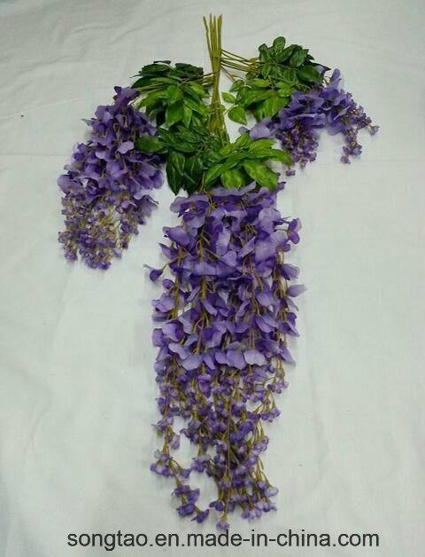 Glicine di seta di plastica di nuovo disegno che wedding for Glicine bonsai prezzo