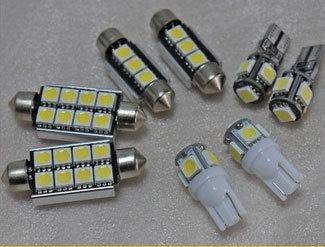 Luz auto LED de coche T10 LED interior China 5050 Bombilla 1JKF3uTlc