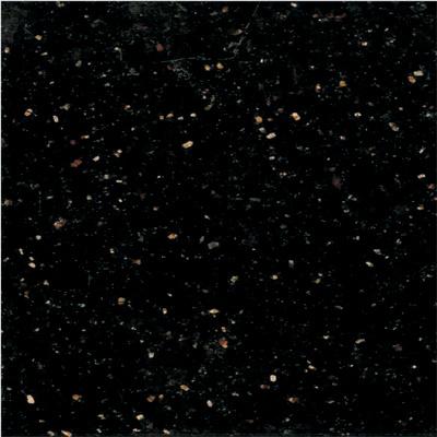 China Absolute Em Granito Preto Puro Black Galaxy