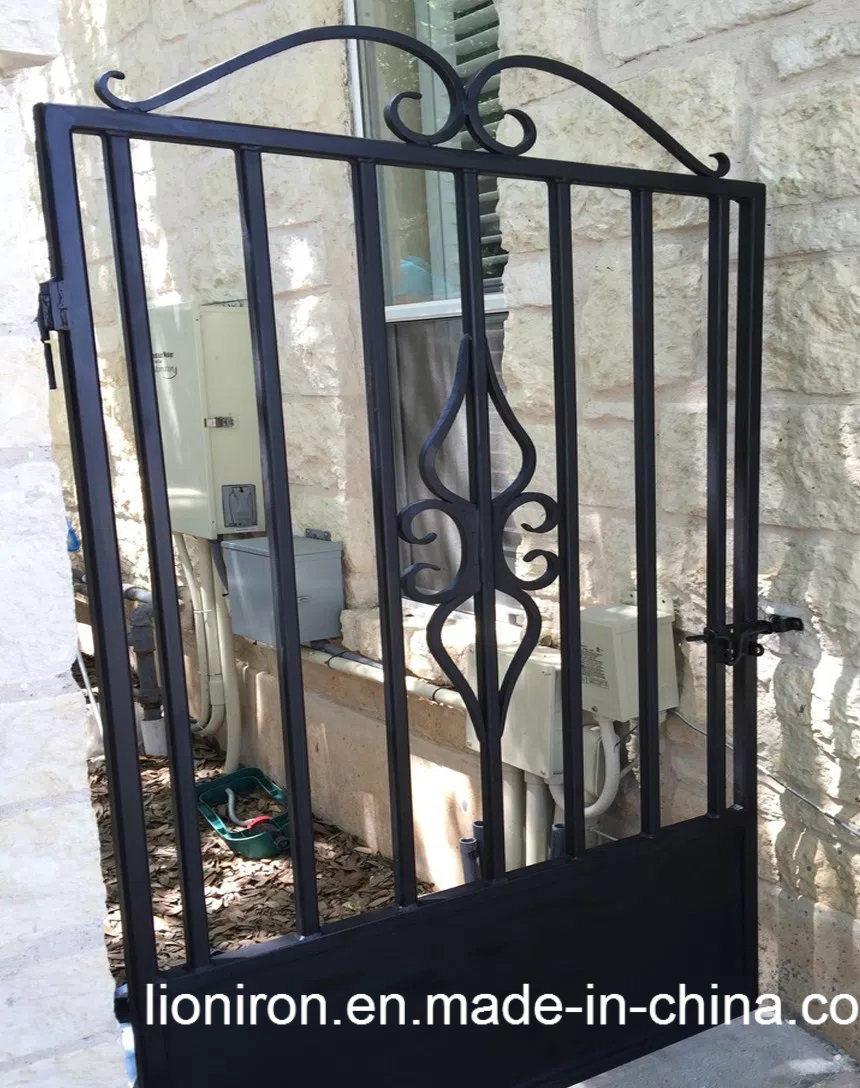 Foto de puerta de hierro forjado galvanizado forjado puerta interior para jard n en es made in - Puertas de hierro para jardin ...