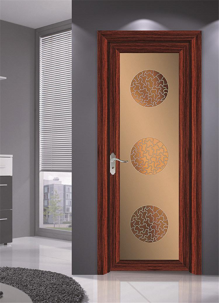 Porte d\'ouverture en aluminium de modèle de porte de chambre à ...