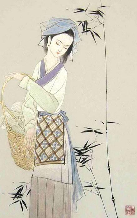中国の従来の絵画(刺繍およびKesi) - 1の芸術