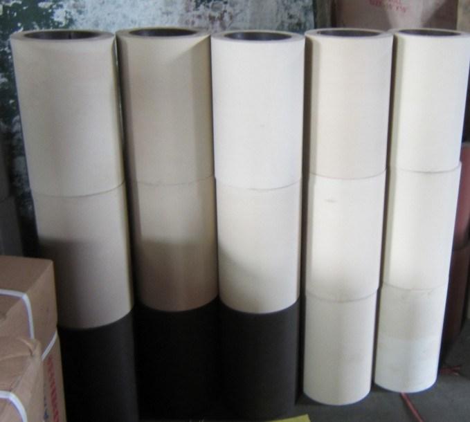 NBR SBRの鉄のドラム米もみすり機のゴム製ローラーの米製造所のゴム製ローラー(LGL254)