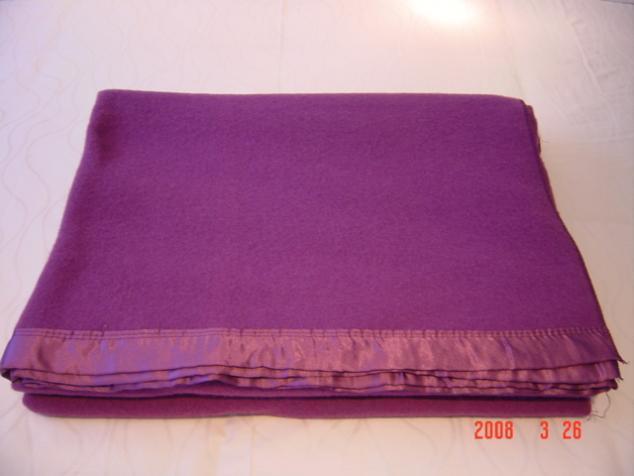 Чистый Новой Зеландии шерсти одеяло (0102)