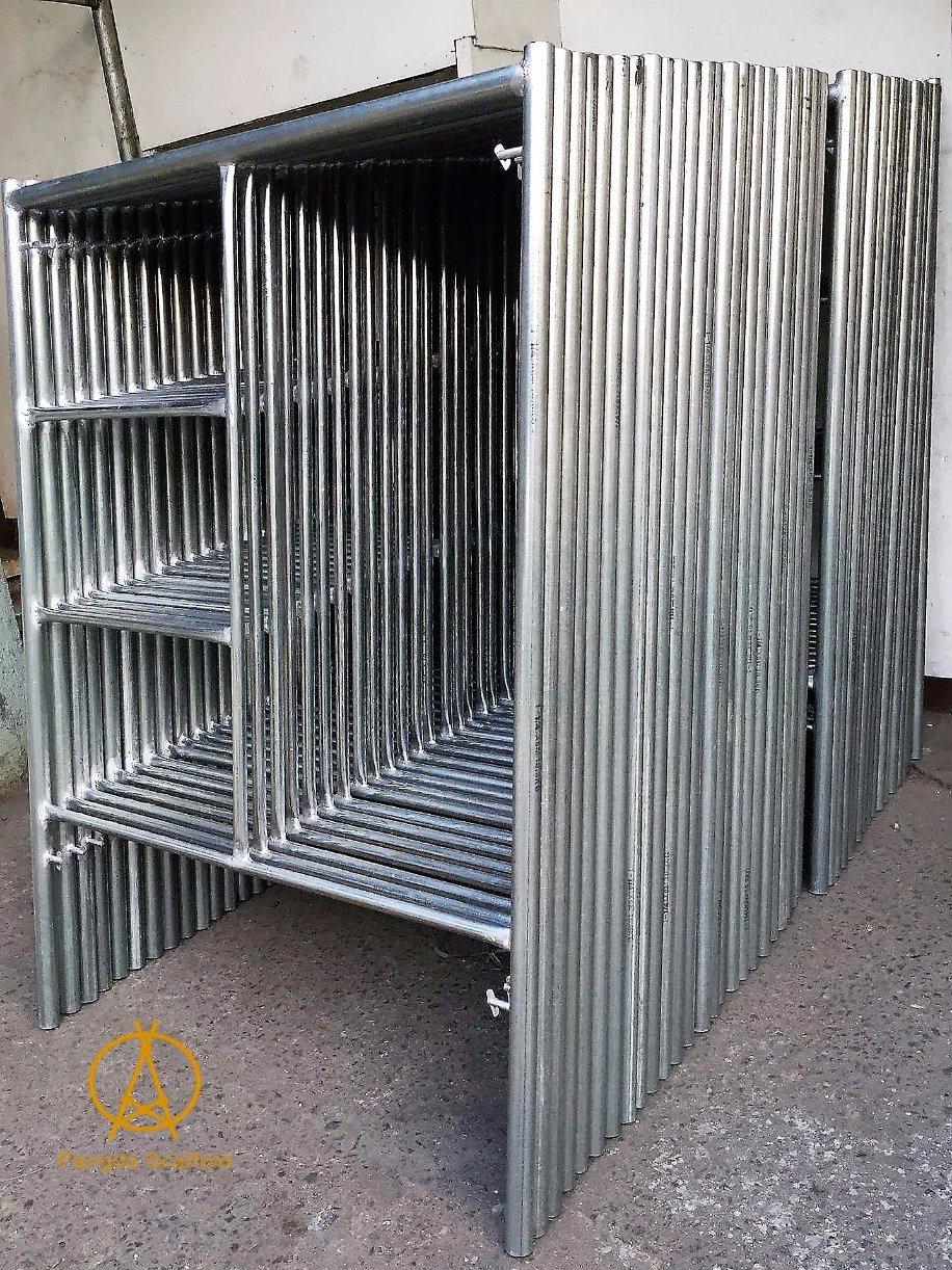 Escalera de bastidor tubular de acero Manson andamios – Escalera de ...