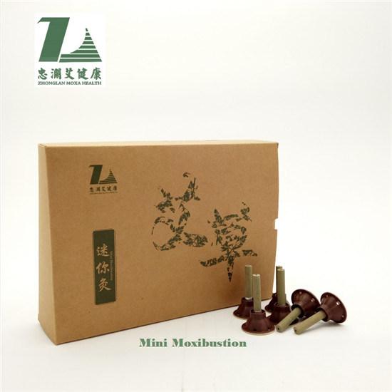 De traditionele Chinese Zuivere Mini zelf-Stok van Moxa van de Stok Moxa voor Moxibustion