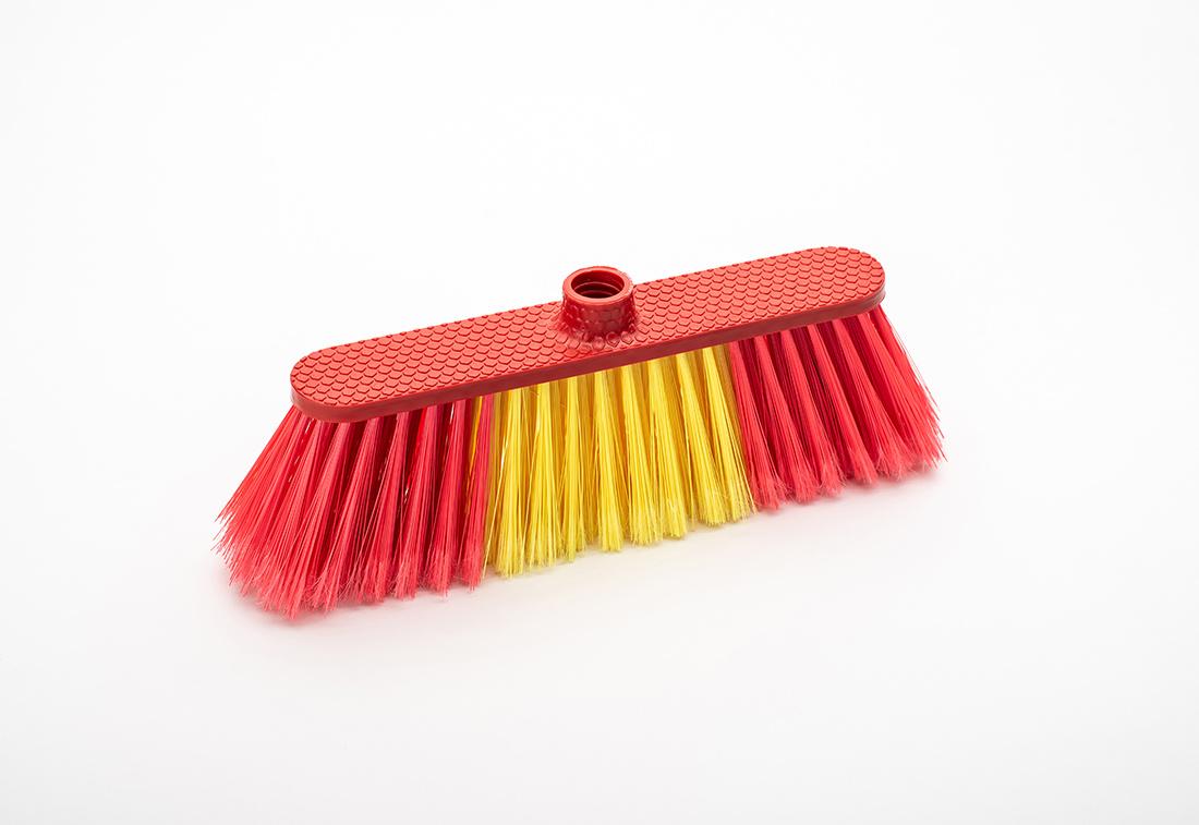 Hot vender bloque negro suave cabezal de cepillo escoba, retama de plástico de 105