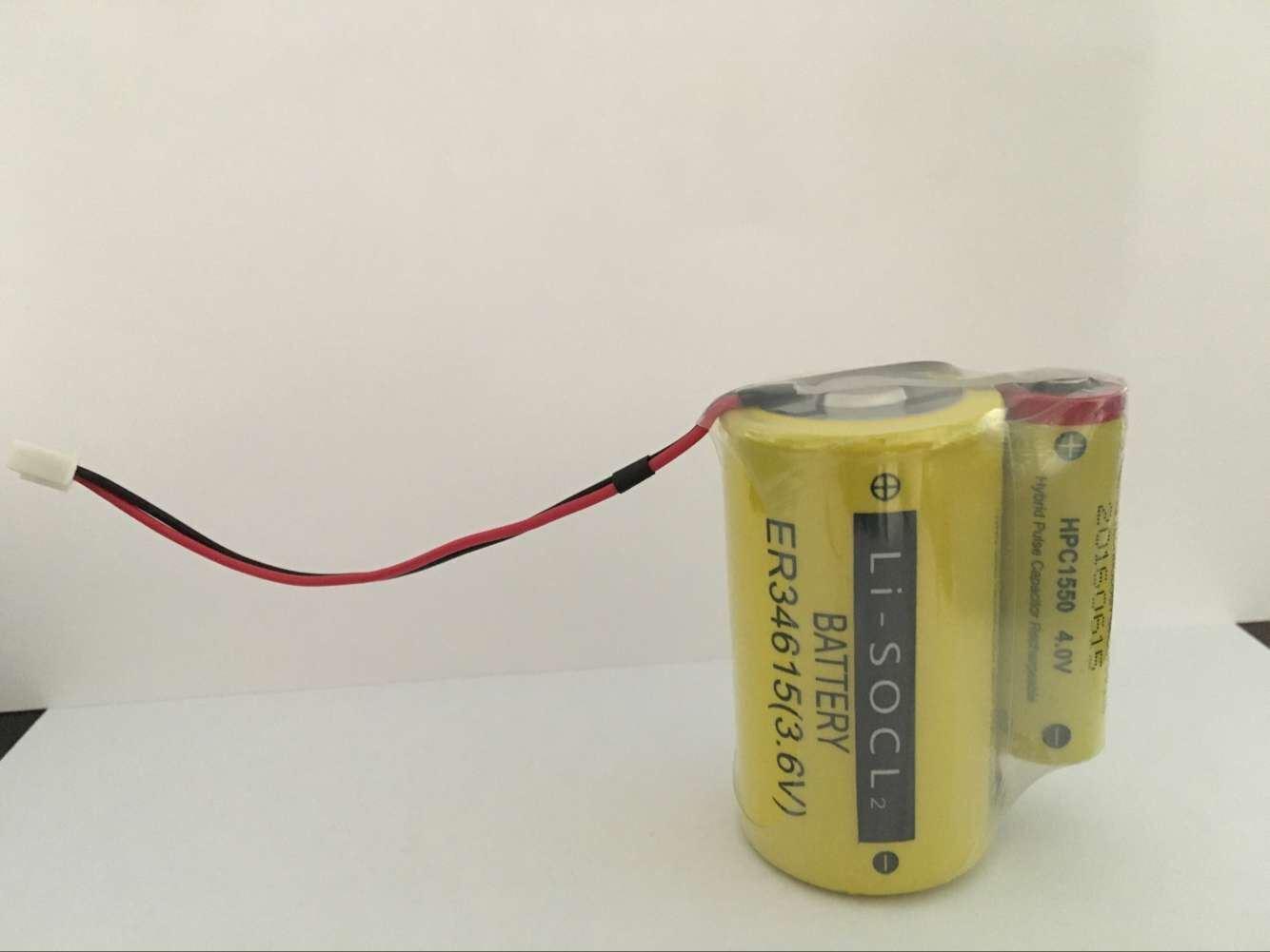 スマートな水道メーターのガスメートルの手段のテレマティックスGPS資産の追跡のスマートな駐車のためのカスタムIotのリチウム電池のパックEr34615+Hpc1550