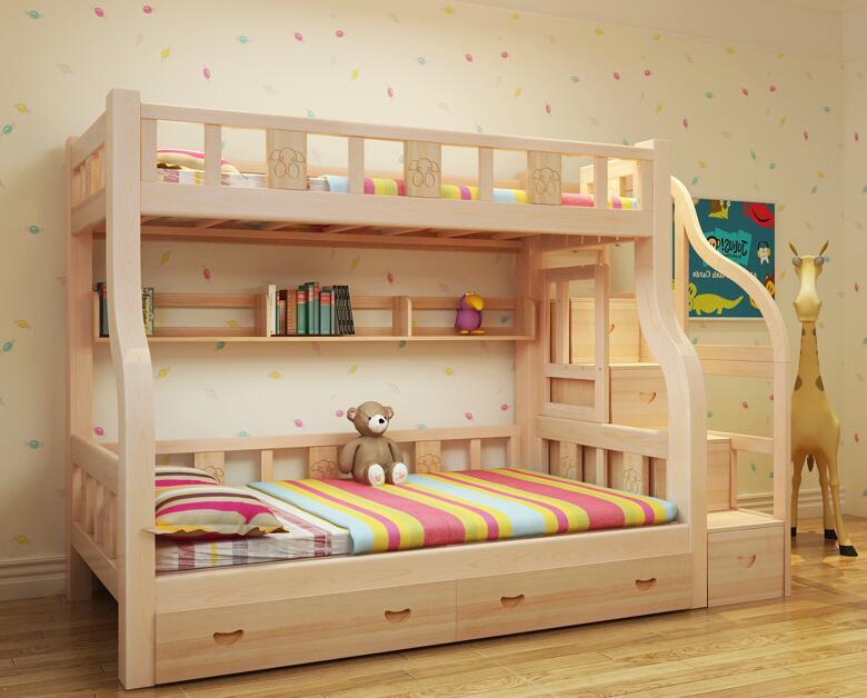 Foto de de madera maciza camas literas ni os litera m x2214 en es made in - Literas madera maciza ...