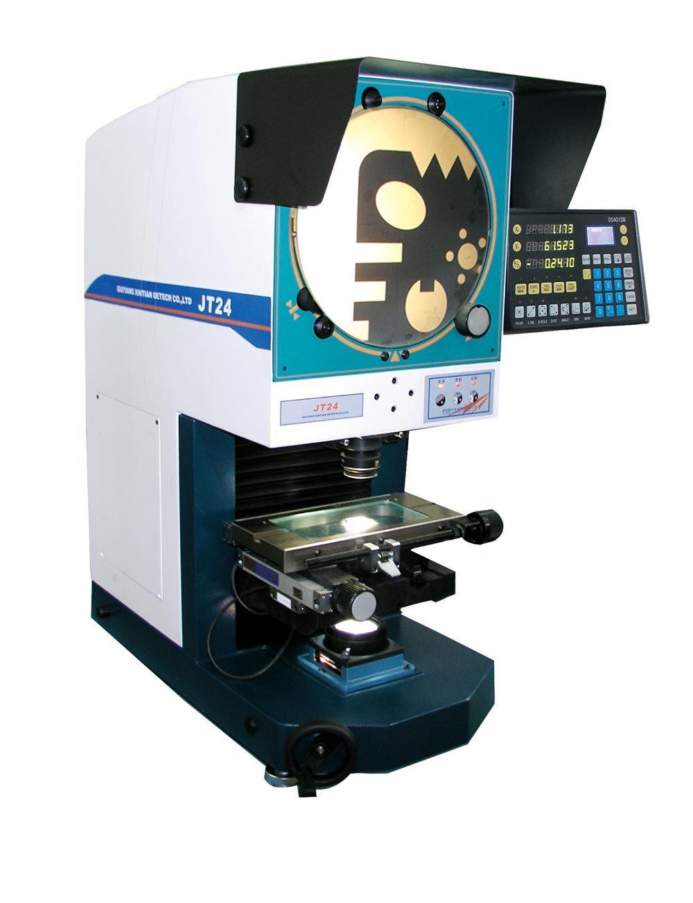 Универсальный цифровой горизонтальный профиль измерения проектор (JT24: 300мм, 200 mmX80мм)