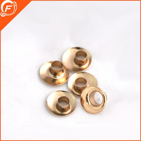 Las prendas de vestir de metal de aleación de oro de botón Botón ojal